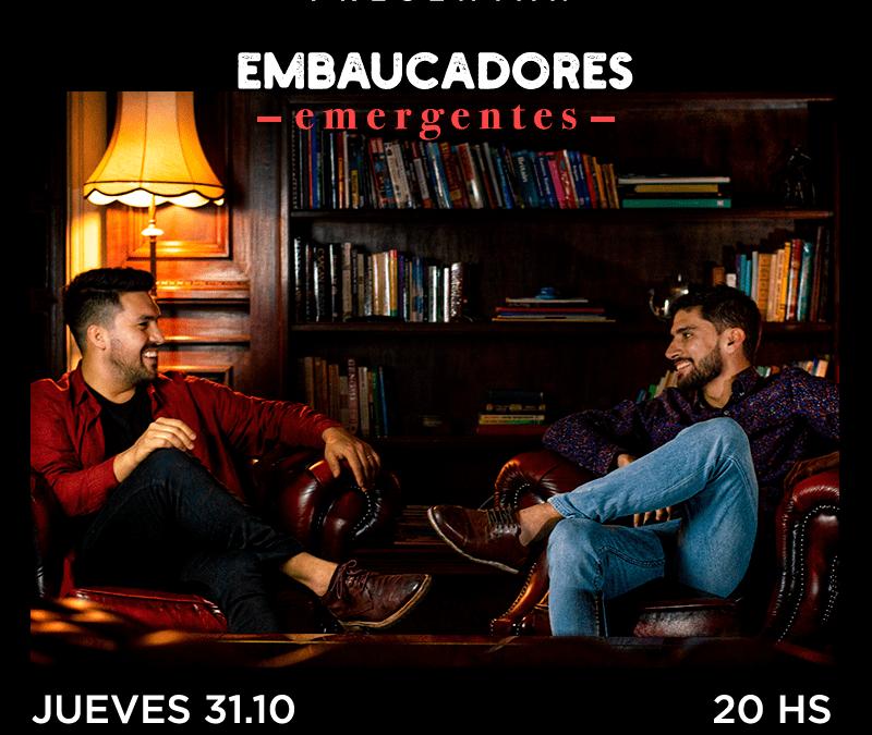 Guille Taranto y Pablo Beltrán son dos «embaucadores emergentes» en Sala Camacuá