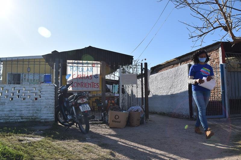AEBU entregó donaciones a través de la Coordinadora Durazno Solidario