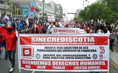 Reintegro de 105 trabajadores en Perú con apoyo de UNI, un ejemplo de cooperación internacional