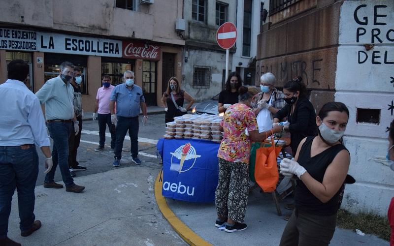 AEBU y vecinos de Ciudad Vieja realizarán olla popular todos los jueves