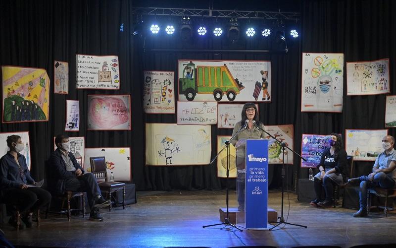 Acto virtual del PIT-CNT llenó de emoción y espíritu de lucha el Día de los Trabajadores