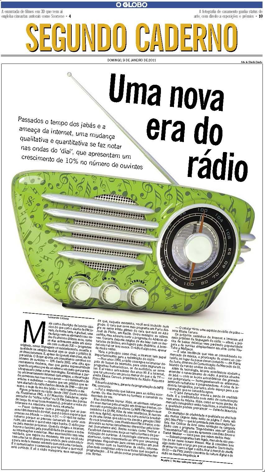 O Globo pag 1