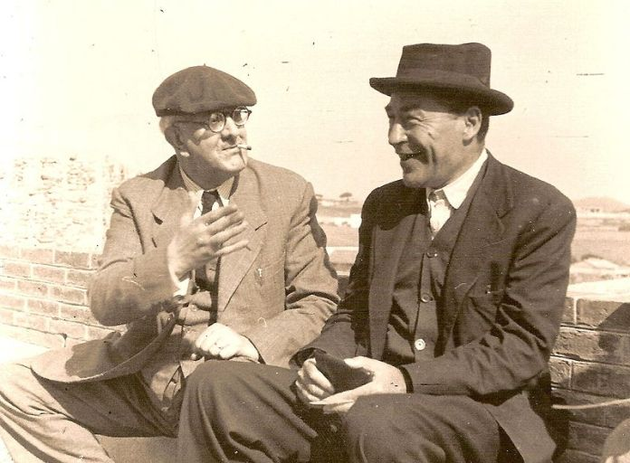 Manuel Brunet i Josep Pla