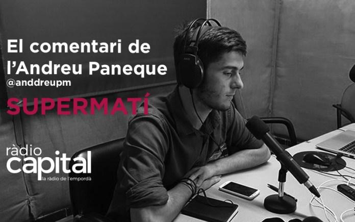 El politòleg bisbalenc Andreu Paneque