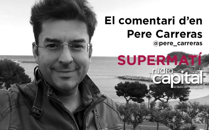 El periodista begurenc Pere Carreras