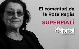 Rosa Regàs és escriptora. Va ser directora de la Biblioteca Nacional d'Espanya.