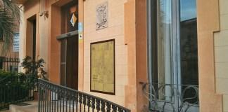 Façana de l'Ajuntament de Begur | Imatge d'arxiu
