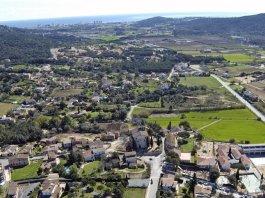 Imatge aèria de Santa Cristina d'Aro