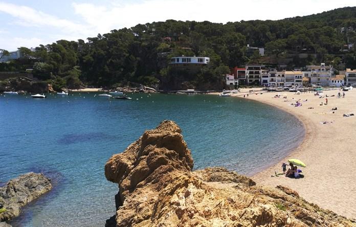 Platja de Sa Riera a Begur - Platges de Begur