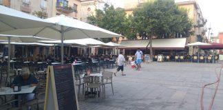Plaça nova de Palafrugell