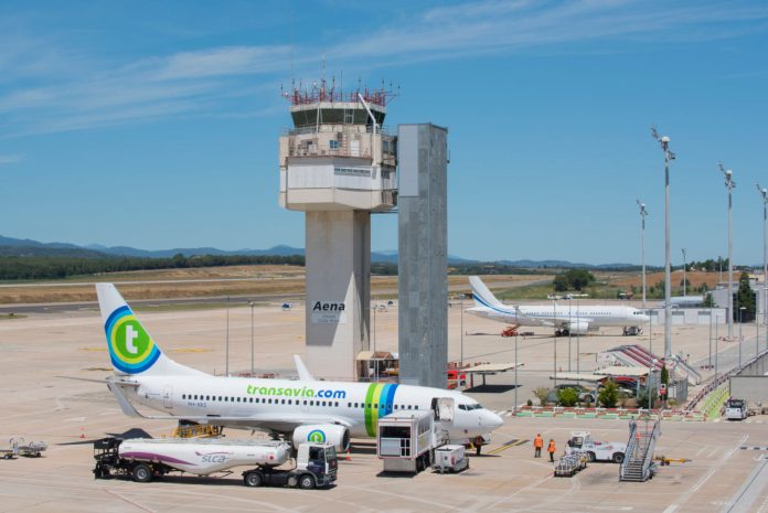 Aeroport de Girona Costa Brava en una imatge d'arxiu Foto: AENA