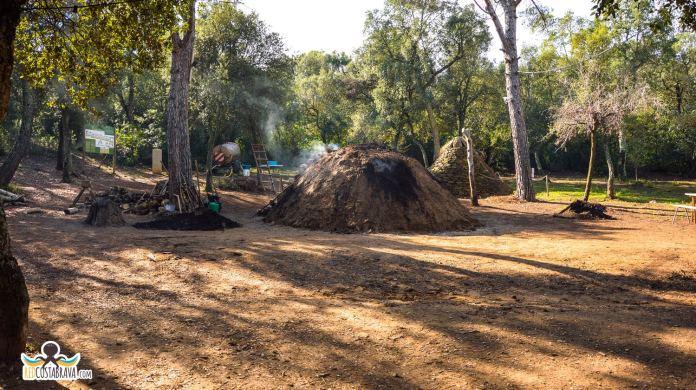 Imatge d'arxiu de la carbonera de Forallac