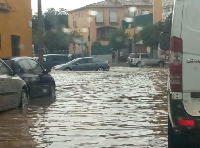 Palafrugell | Carrer del Mestre Sagrere i voltants completament inundat
