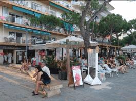 Restaurant La Pèrgola al Passeig Marítim de Platja d'Aro