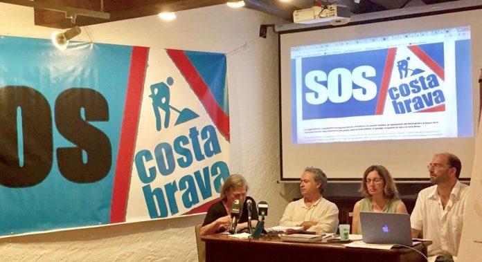 Presentació de la plataforma SOS Costa Brava a Pals