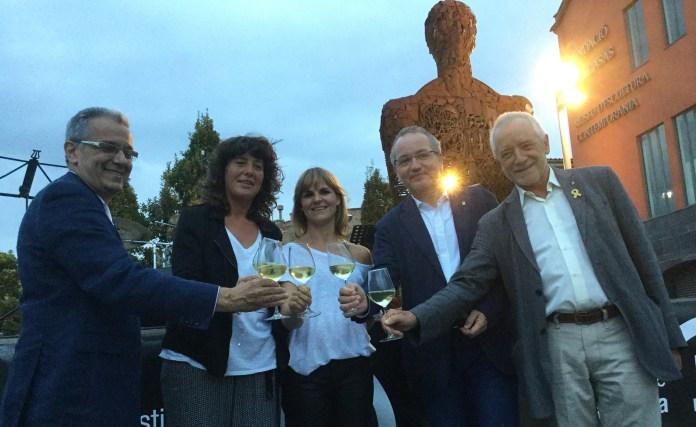 Inauguració de la Fira de Vins i Caves de Catalunya a Palafrugell