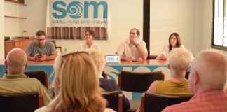 Presentació SOM a Castell-Platja d'Aro