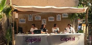 Estudi de Ràdio Capital al centre de Begur en motiu de la XV Fira d'Indians | Imatge de Ràdio Capital