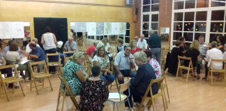Reunió del POUM de Santa Cristina | Imatge de l'Ajuntament