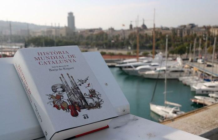 Historia Mundial de Catalunya dirigida per Borja de Riquer   Imatge de diversos mitjans