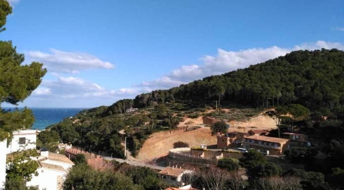 Imatge de les obres urbanístiques de Jardins de Sa Riera Living | Imatge d'arxiu