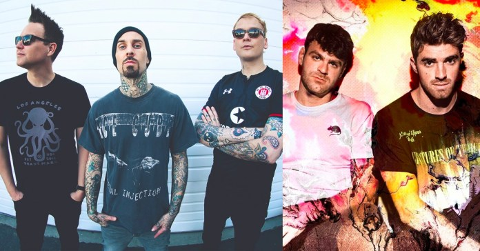 Blink-182 graven un tema amb The Chainsmokers