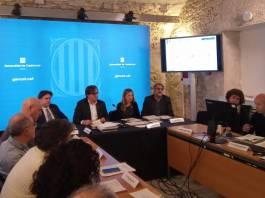 Roda de premsa de la segona moratòria urbanística a la Costa Brava   Imatge de la Generalitat de Catalunya