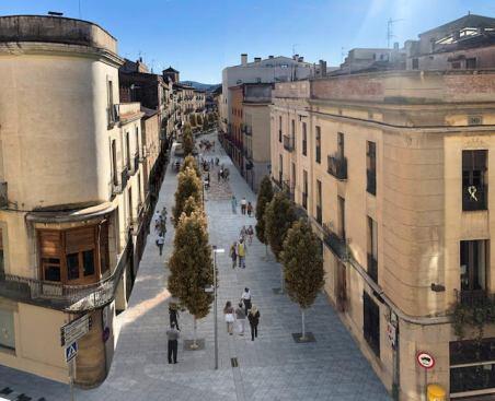 Projecte de remodelació del carrer Ample de la Bisbal
