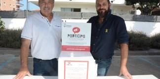 Zona de votació ciutadana al Mercat de Calonge i Sant Antoni | Imatge de l'Ajuntament