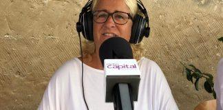 Maite Selva a Ràdio Capital de l'Empordà durant la Fira dels Indians 2019