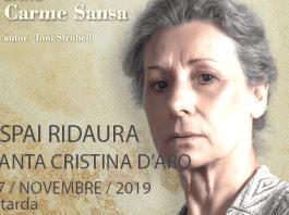 privat:-carme-sansa-porta-diumenge-la-primera-sindicalista-catalana-a-l'espai-ridaura-de-santa-cristina