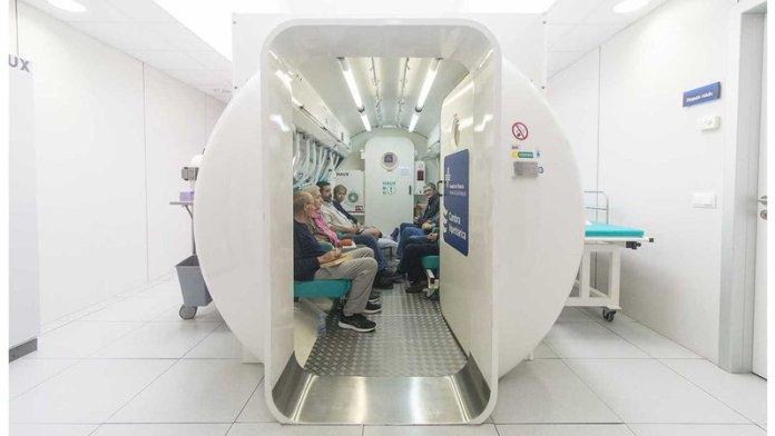 Cambra Hiperbarica Hospital de Palamós | Imatge de l'Hospital de Palamós