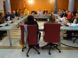 Ple de novembre de Palamós on s'ha aprovat la nova normativa de la via pública, afectant a les terrasses | Imatge de Ràdio Palamós