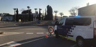Control de la Policia Local de Platja d'Aro durant el confinament | Imatge de la Policia Local de Platja d'Aro