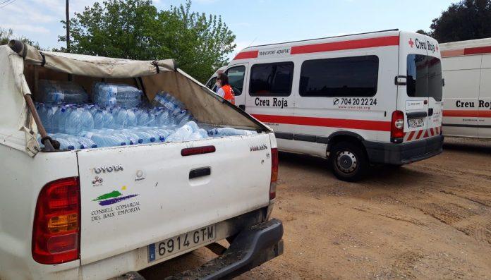 Distribució d'aigua potable a Foixà, Parlavà, Rupià i Ultramort - Imatge del Consell Comarcal del Baix Empordà