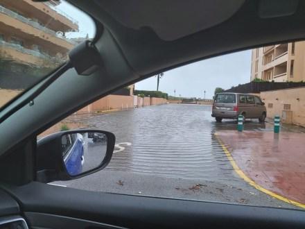 temporal abril 2020 inundacio platja de pals