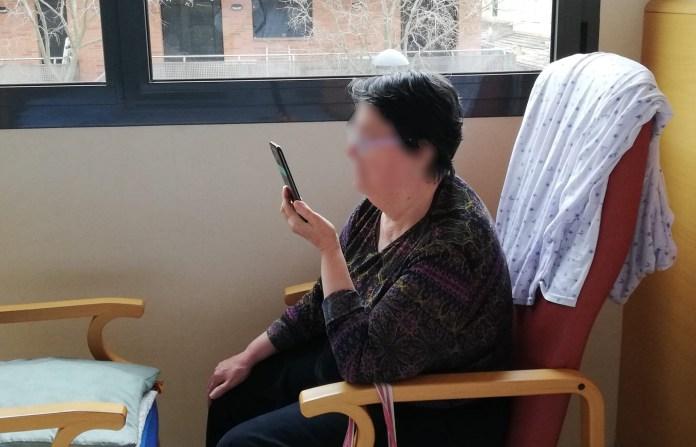 Videotrucades des de Palamós Gent Gran pel coronavirus | Imatge cedida a Ràdio Capital de l'Empordà