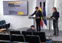 Fernando Simón i el Ministre Salvador Illa anuncien l'entrada a la fase 2 del Baix Empordà