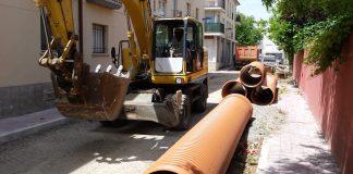 Obres de millora integral de l'Eixample   Imatge de l'Ajuntament de Palamós