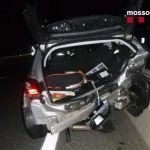 Accident a la C-31 al municipi de Vall-llobrega | Imatge dels Mossos d'Esquadra