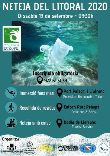 privat:-voluntaris-netejaran-les-platges-i-el-fons-mari-de-calella-i-llafranc-el-proper-dissabte