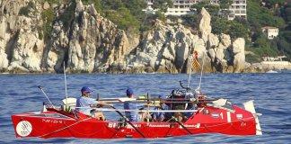 OceanCats travessant la Costa Brava   Imatge de l'Ajuntament de Blanes