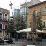 La Plaça Nova de Palafrugell amb els bars tancats a causa de la pandèmia del coronavirus al Baix Empordà | Imatge d'arxiu