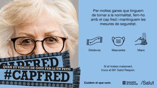 Eslògan de la campanya d'enguany llançada per la Generalitat.