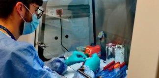 Laboratori de l'Hospital de Palamós amb proves PCR del coronavirus COVID-19 | Imatge del SSIBE