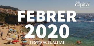 Què va passar al febrer 2020 al Baix Empordà? Posa't a prova amb el test d'actualitat de Ràdio Capital de l'Empordà