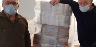 privat:-ssibe-i-emporhotel-donen-6,6-tones-d'aliments-i-d'altres-productes-basics-a-caritas-baix-emporda