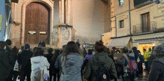 manifestació hasel la bisbal