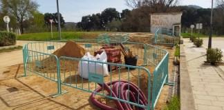 privat:-s'inicien-les-obres-d'instal·lacio-d'una-nova-area-d'autocaravanes-a-santa-cristina-d'aro