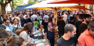 Diada de Sant Jordi a Girona